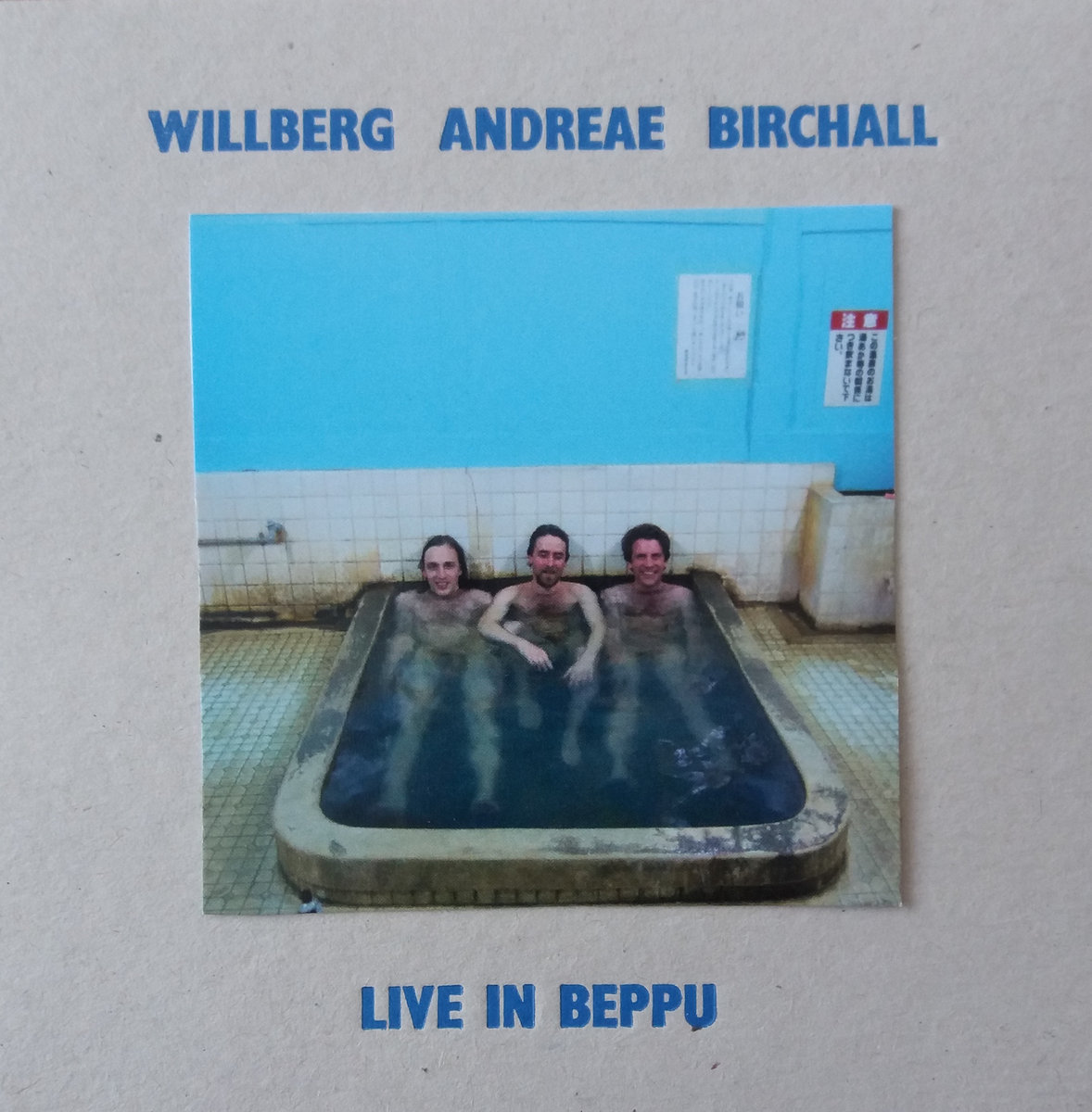 sam andreae Live in Beppu OUT NOW